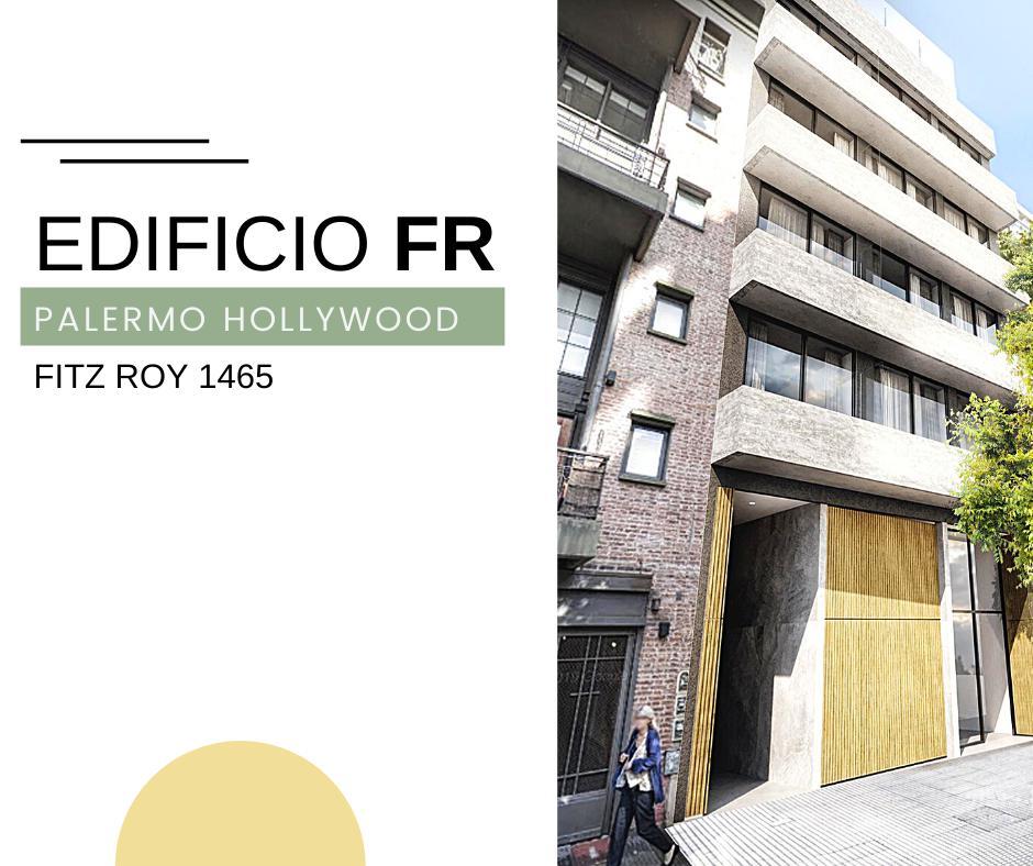 Foto Departamento en Venta en  Palermo Hollywood,  Palermo   EDIFICIO FR  MONOAMBIENTE PISO 2 - DPTO. # 8 FITZ ROY  1465