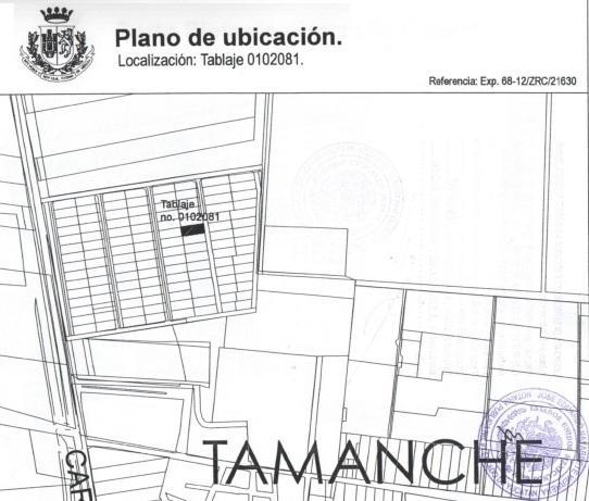 Foto Terreno en Venta en  Pueblo Tamanche,  Mérida  TERRENO RESIDENCIAL EN TAMANCHE