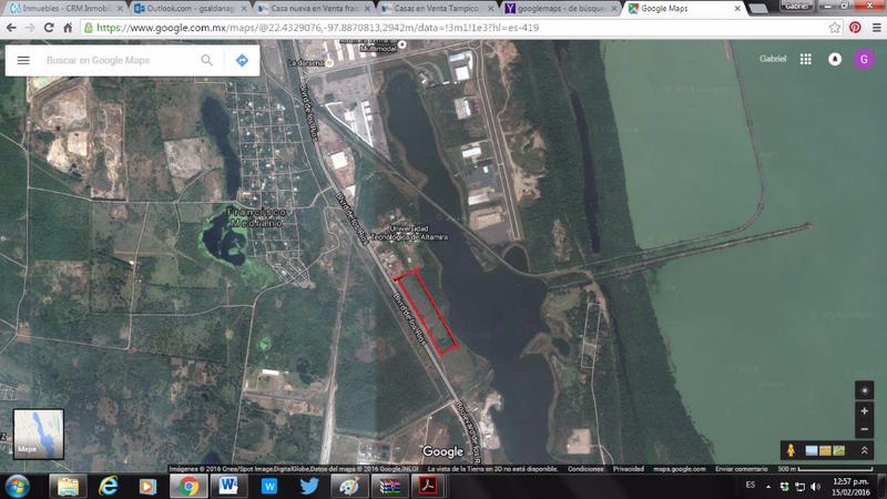 Foto Terreno en Venta en  Altamira,  Altamira  TERRENO EN BLV DE LOS RIOS, 12,000 mts2 a $ 1,500 mt2