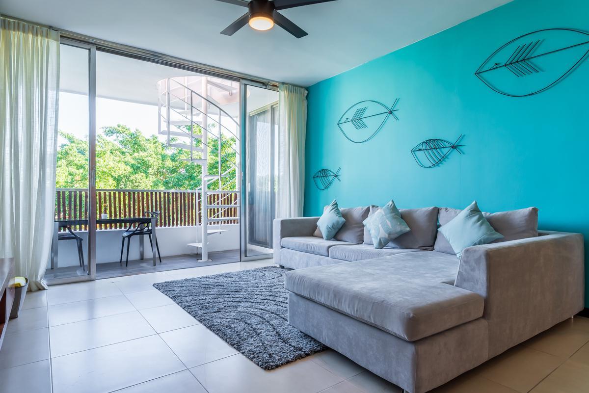 Foto Departamento en Renta en  Solidaridad ,  Quintana Roo  Nolita 304 Penthouse Alberca Privada 2 habitaciones 5 AV. Calle 24