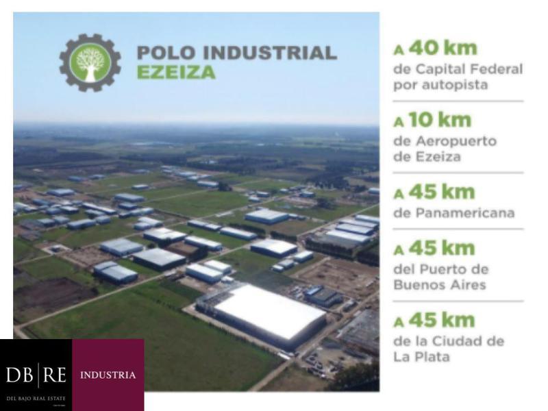 Foto Depósito en Alquiler | Venta en  Ezeiza ,  G.B.A. Zona Sur  Polo Industrial EZeiza