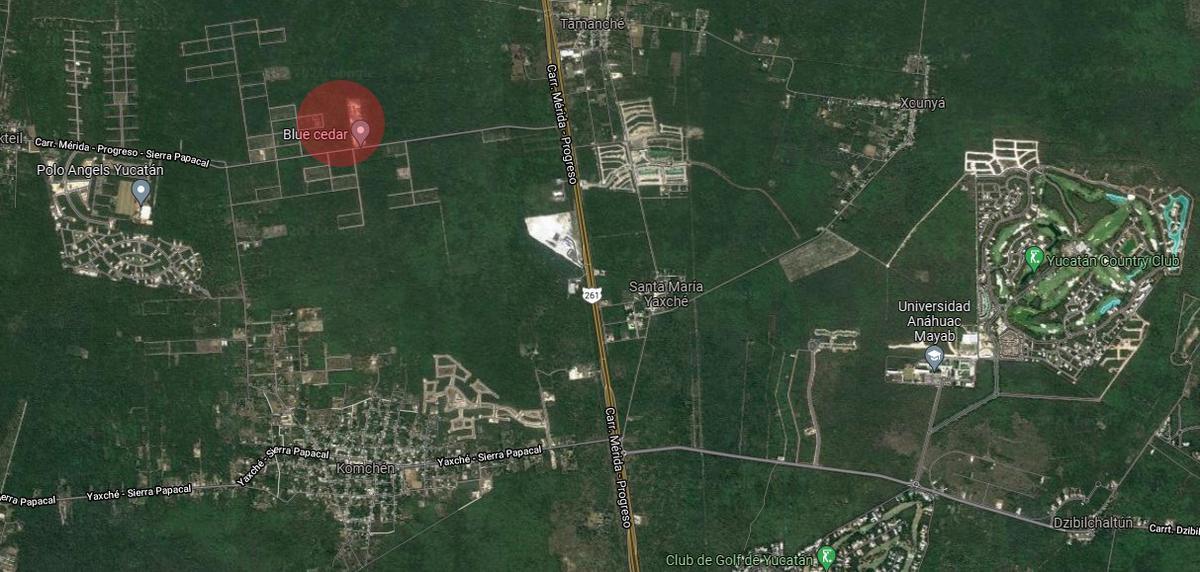Foto Terreno en Venta en  Mérida ,  Yucatán  Terreno carretera Progreso - Sierra Papacal