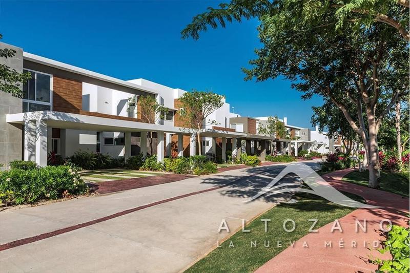 Foto Casa en Venta en  Pueblo Tamanche,  Mérida  Casa en  Altozano en Privada Risco (MODELO A)