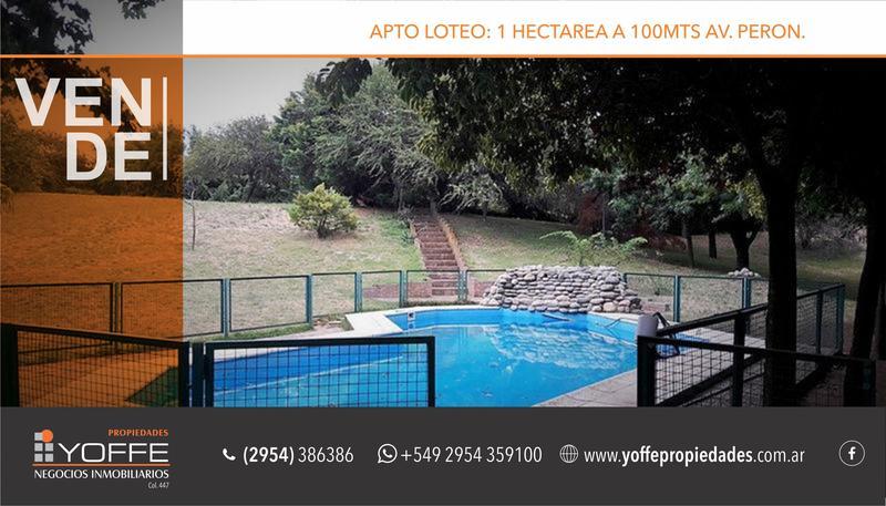 Foto Quinta en Venta en  Toay,  Toay  LLORENS al 100