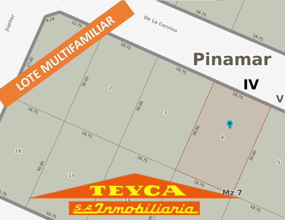 Foto Terreno en Venta en  San Jose,  Pinamar  corvina 1526 E/ Jupiter y Eneas