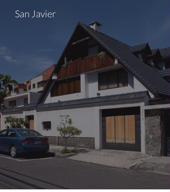 Foto Casa en Venta en  Centro Norte,  Quito  SAN JAVIER QUITO