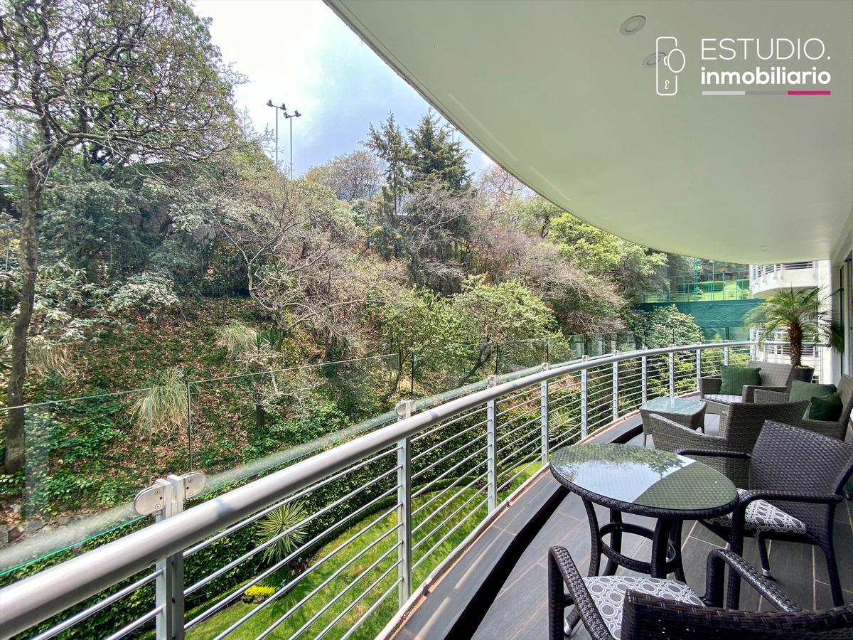 Foto Departamento en Venta en  Lomas Country Club,  Huixquilucan  DEPARTAMENTO EN VENTA LOMAS COUNTRY CLUB. villa serena, estricta vigilancia, amplio, terraza.