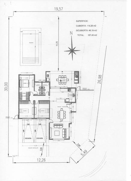 Foto Casa en Venta en Pilar del Este Santa Emilia Santa Emilia - Lote al 200
