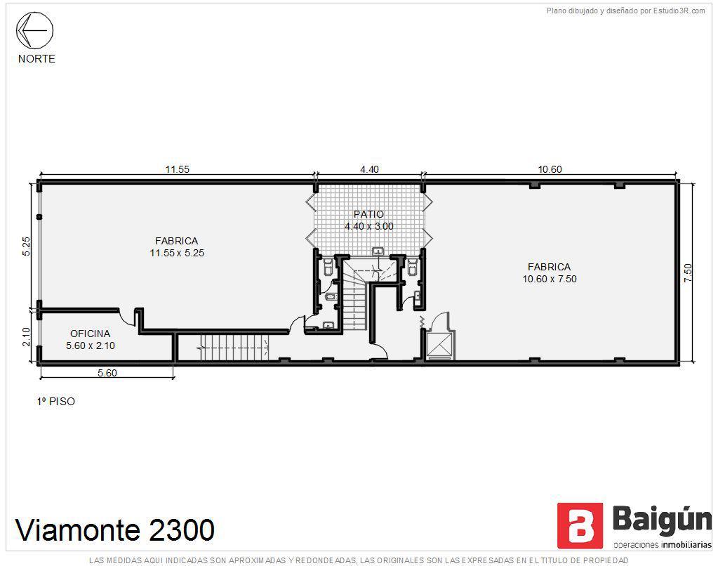 Foto Oficina en Alquiler en  Balvanera ,  Capital Federal  Viamonte al 2300