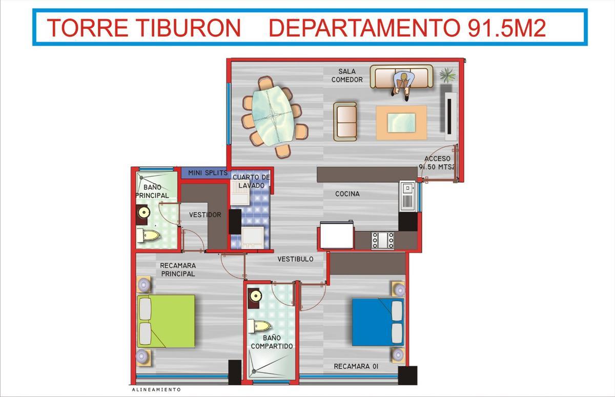 Foto Departamento en Venta en  Fraccionamiento Costa de Oro,  Boca del Río  Costa de Oro