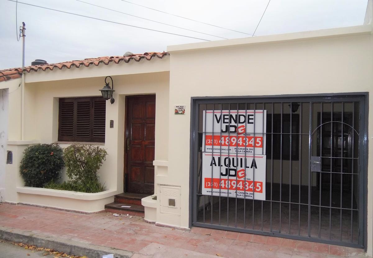 Foto Casa en Alquiler en  Villa Cabrera,  Cordoba Capital  Juan Posse al 1700