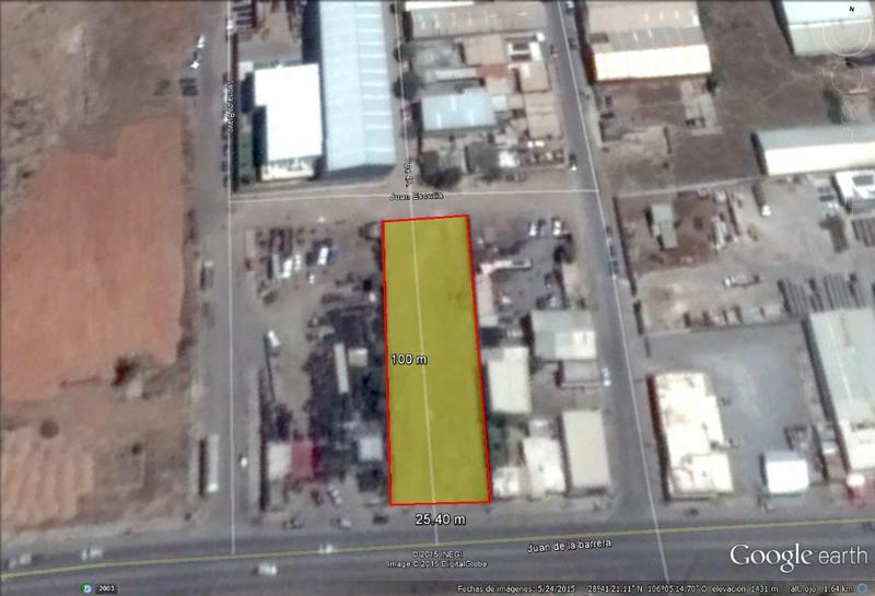 Foto Campo en Venta en  Leonardo Bravo,  Chihuahua  Lote Industrial