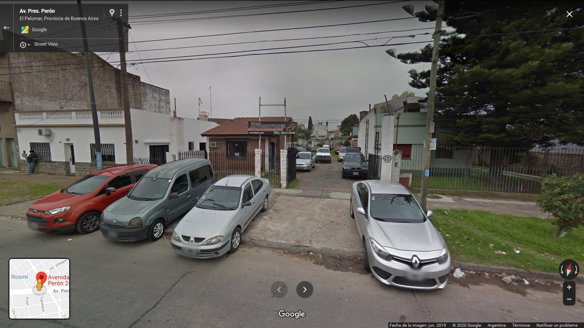 Foto Terreno en Venta en  Haedo,  Moron  Avenida Perón  al 2500