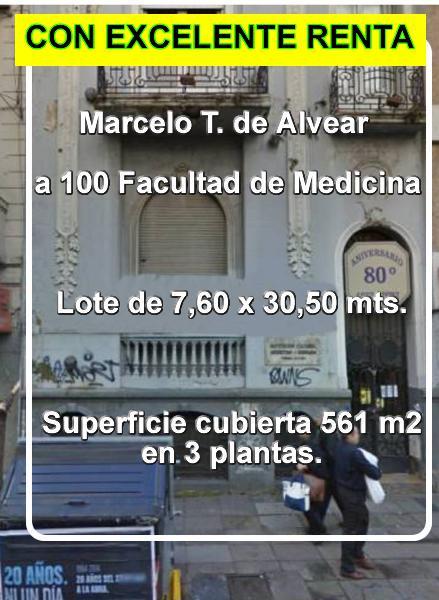 Foto Hotel en Venta en  Palermo ,  Capital Federal  Marcelo T. de Alvear al 2000