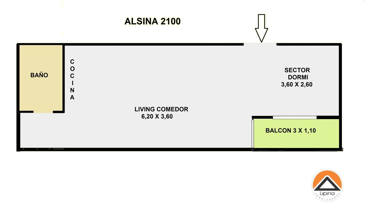 Foto Departamento en Venta en  Balvanera ,  Capital Federal  Adolfo Alsina al 2100