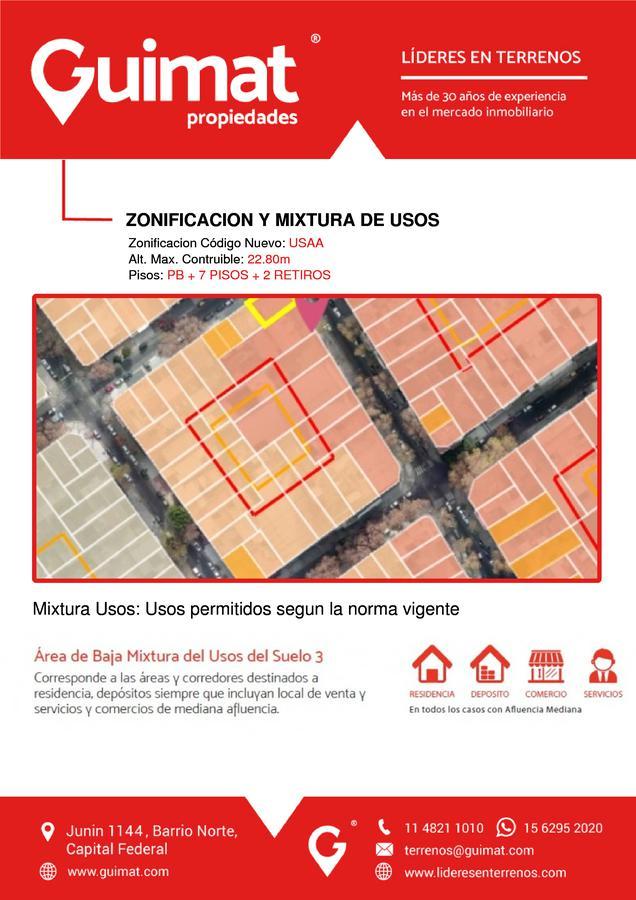 Foto Terreno en Venta en  Villa del Parque ,  Capital Federal  PEDRO LOZANO al 3300