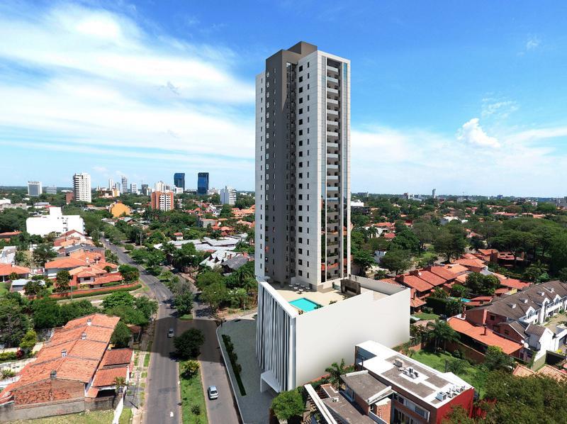 Foto Departamento en Venta en  Las Carmelitas,  Santisima Trinidad  Edificio Molas, Barrio Las Carmelitas-Asunción