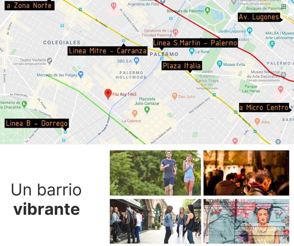 Foto Departamento en Venta en  Palermo Hollywood,  Palermo   EDIFICIO FR TRES AMBIENTES PISO 3 - DPTO. # 10 FITZ ROY  1465