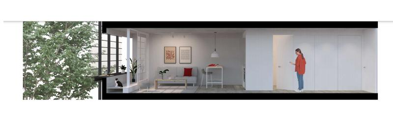 Foto Departamento en Venta en  Prado ,  Montevideo  En construcción, en Prado, monoambiente  con terraza, vivienda promovida
