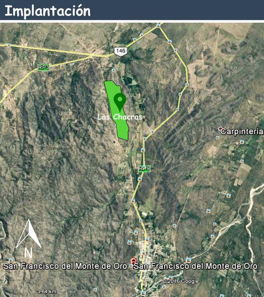 Foto Terreno en Venta en  San Fco Del Monte De Oro,  Ayacucho  San Fco del Monte de Oro Lote 4.593,23 m2