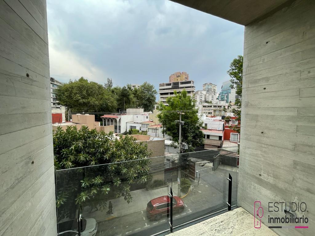 Foto Departamento en Renta en  Lomas de Chapultepec,  Miguel Hidalgo  DEPARTAMENTO EN RENTA  AMUEBLADO LOMAS DE CHAPULTEPEC. seguridad, amplio, terraza.