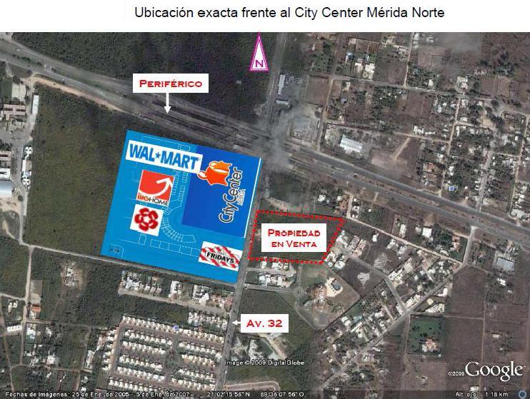 Foto Terreno en Venta en  Fraccionamiento Montebello,  Mérida  TERRENO PARA INVERSIONISTAS Frente al City Center?