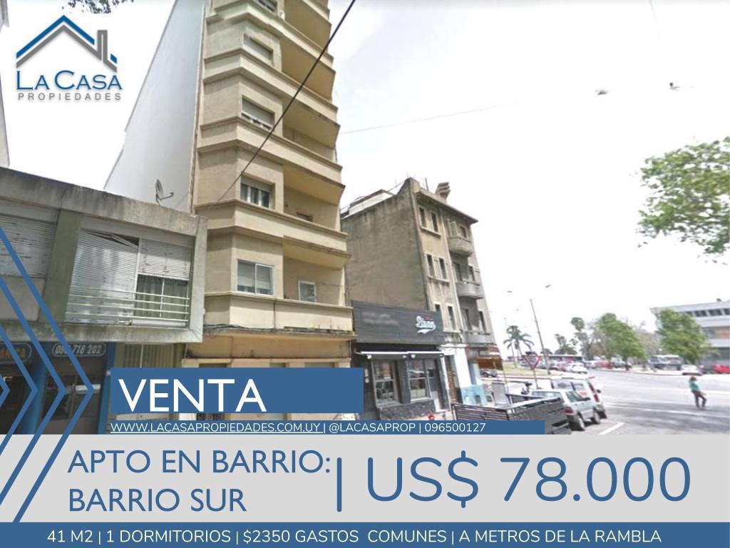 Foto Apartamento en Venta en  Barrio Sur ,  Montevideo  Canelones al 700