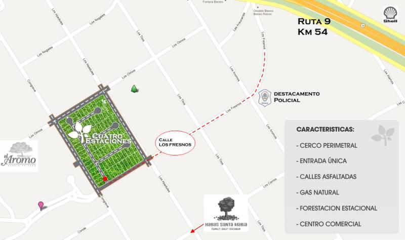 Foto Terreno en Venta en  Loma Verde,  Escobar  Lotes Congreve y Los Fresnos al 600