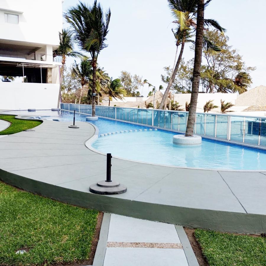Foto Departamento en Renta en  Playa de Oro Mocambo,  Boca del Río  DEPARTAMENTO AMUEBLADO EN RENTA FRENTE AL MAR  BOCA DEL RÍO VERACRUZ