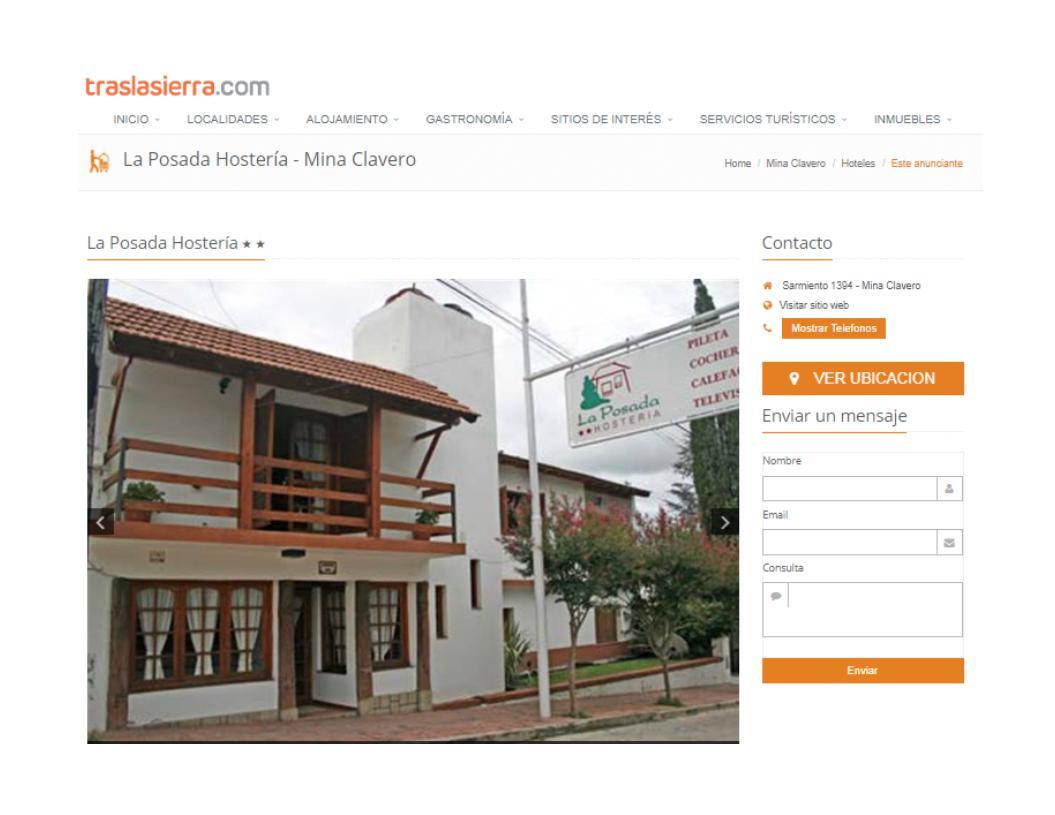 Foto Hotel en Alquiler en  Mina Clavero,  San Alberto  ALQUILER HOSTERÍA  Mina Clavero Valle de Traslasierra Córdoba