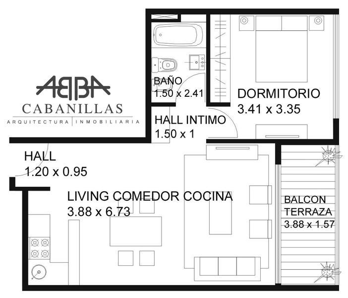 Foto Departamento en Venta | Alquiler en  Palermo Hollywood,  Palermo  Bonpland 2187 2do B