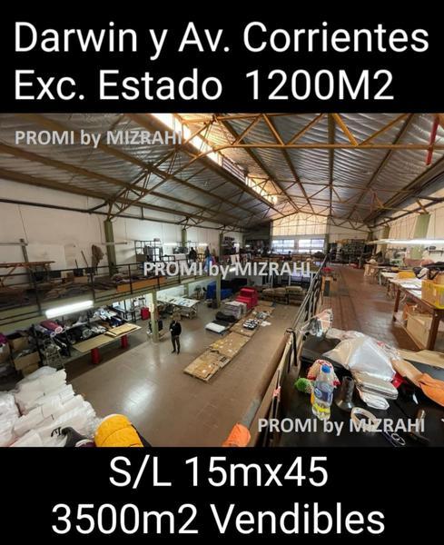 Foto Depósito en Venta en  Villa Crespo ,  Capital Federal  DARWIN AL 500