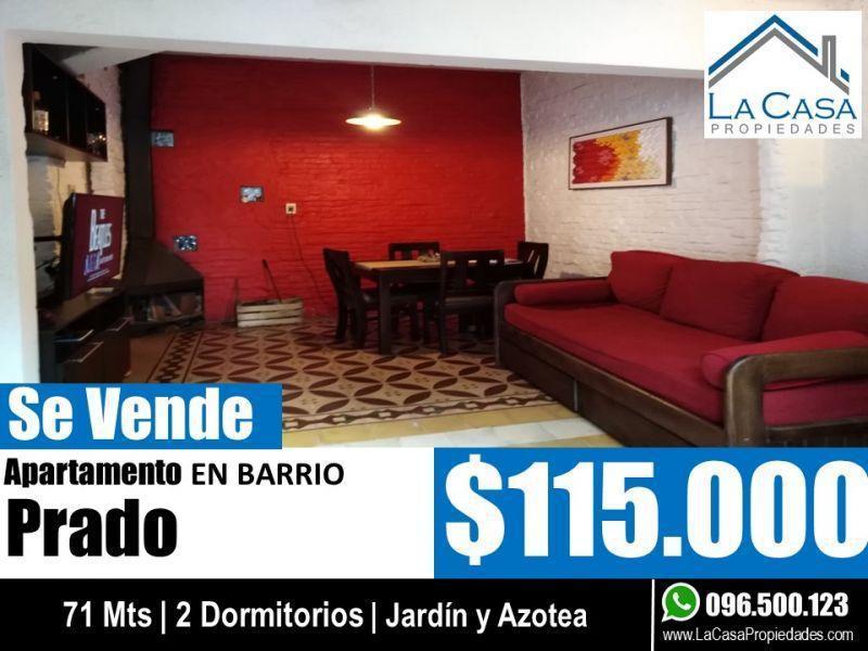 Foto Apartamento en Venta en  Prado ,  Montevideo  CABALLERO, FELIPE 100