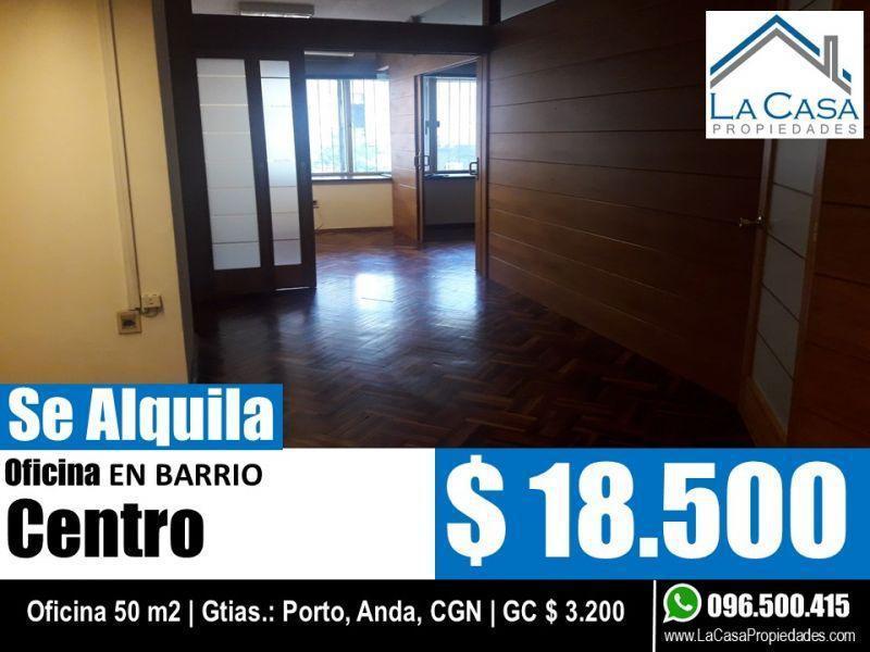 Foto Oficina en Alquiler en  Centro,  Montevideo  18 DE JULIO 800
