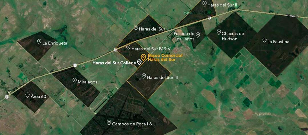 Foto Terreno en Venta en  Haras del Sur III,  Countries/B.Cerrado (La Plata)  Haras del Sur III - Club de Campo & Spa - Los Robles