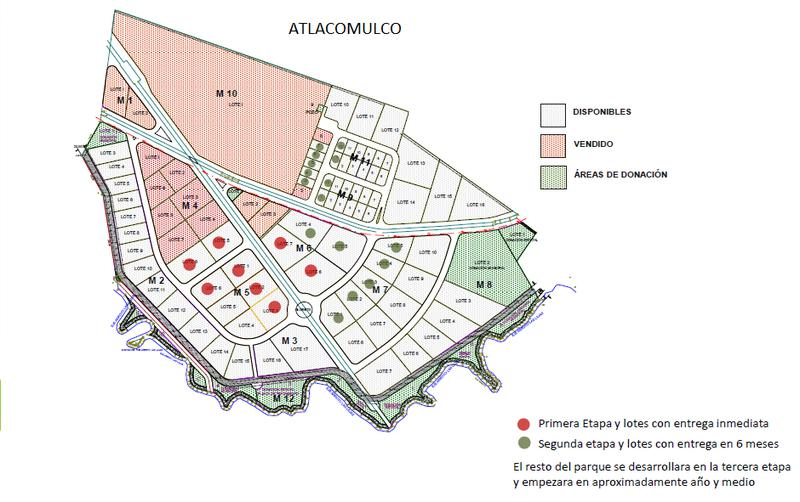 Foto Terreno en Venta en  Centro,  Atlacomulco  VENTA DE MACROLOTE EN PARQUE INDUSTRIAL DE ATLACOMULCO, ESTADO DE MÉX.