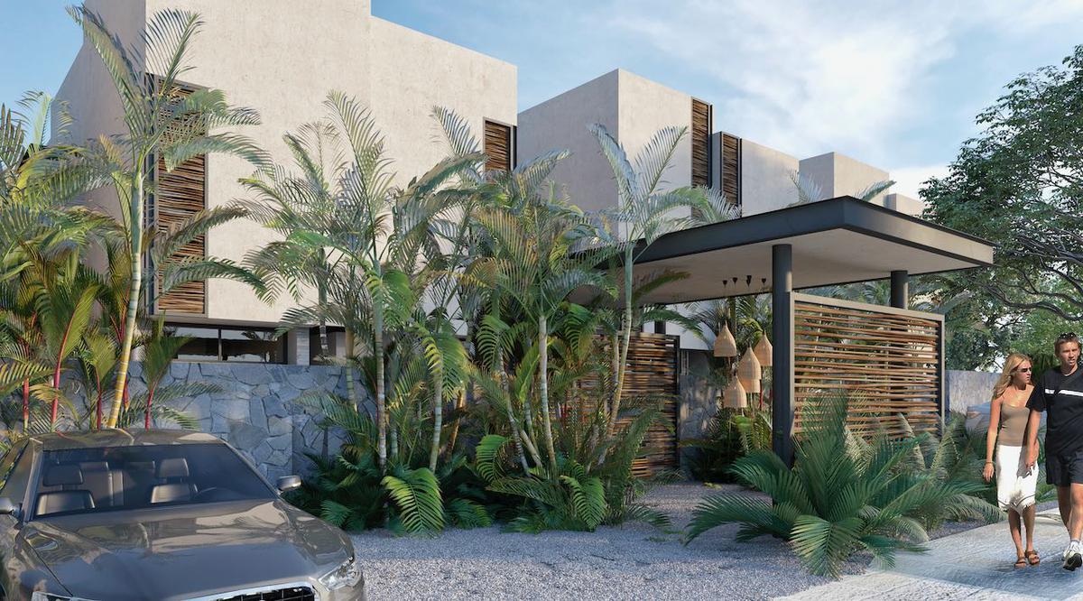 Foto Casa en Venta en  Tulum ,  Quintana Roo  INCREIBLE VILLA- 3 REC.- AREAS VERDES Y PISCINA- TULUM- QUINTANA ROO