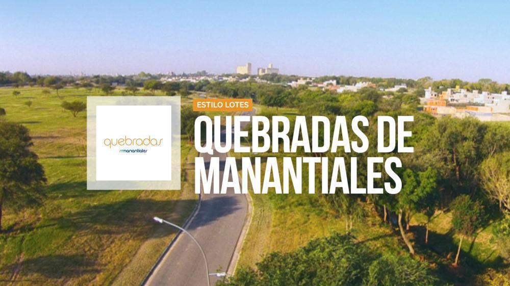 Foto Terreno en Venta en  Manantiales Country,  Cordoba Capital  Quebradas de Manantiales