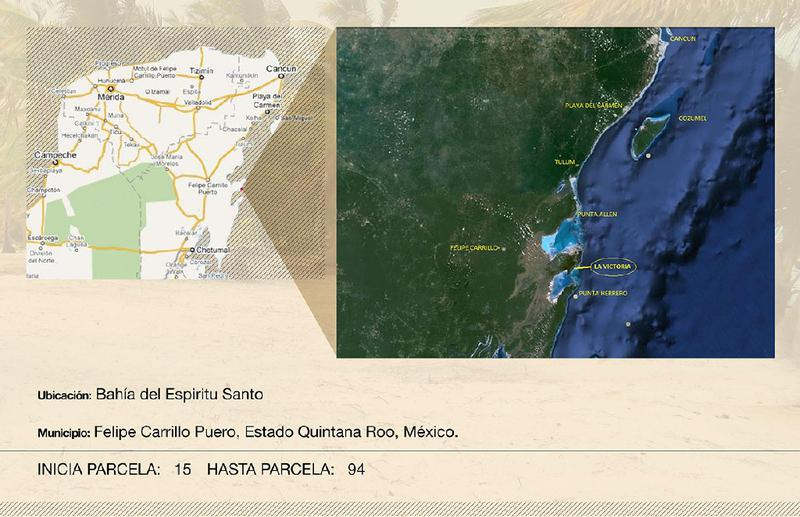 Foto Terreno en Venta en  Ramonal Zona Maya,  Felipe Carrillo Puerto  LA VICTORIA COSTA MAYA