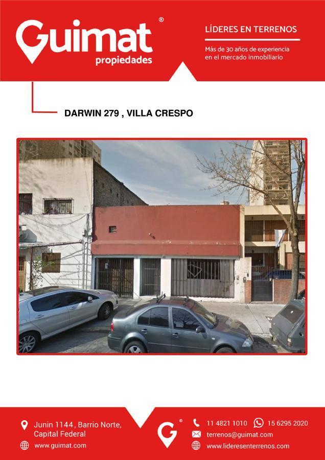 Foto Terreno en Venta en  Villa Crespo ,  Capital Federal  DARWIN al 200