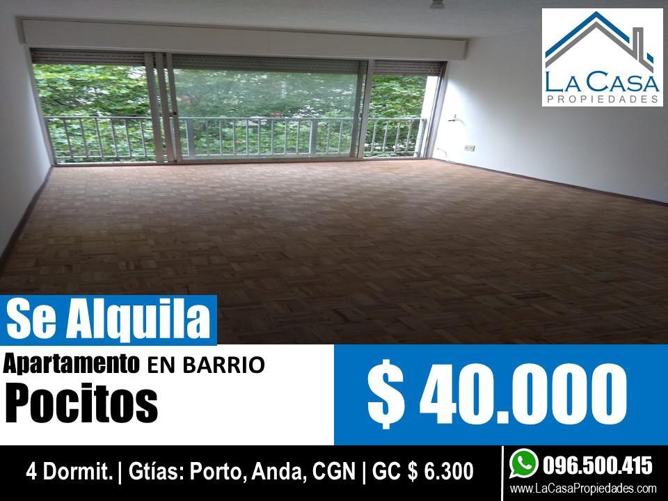 Foto Apartamento en Alquiler en  Pocitos ,  Montevideo  Juan Benito Blanco al 900