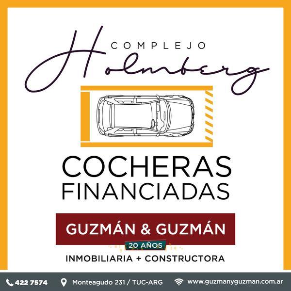 Foto Cochera en Venta en  San Miguel De Tucumán,  Capital  Cocheras Financiadas  Alt. Av. América y Venezuela - Complejo Holmberg