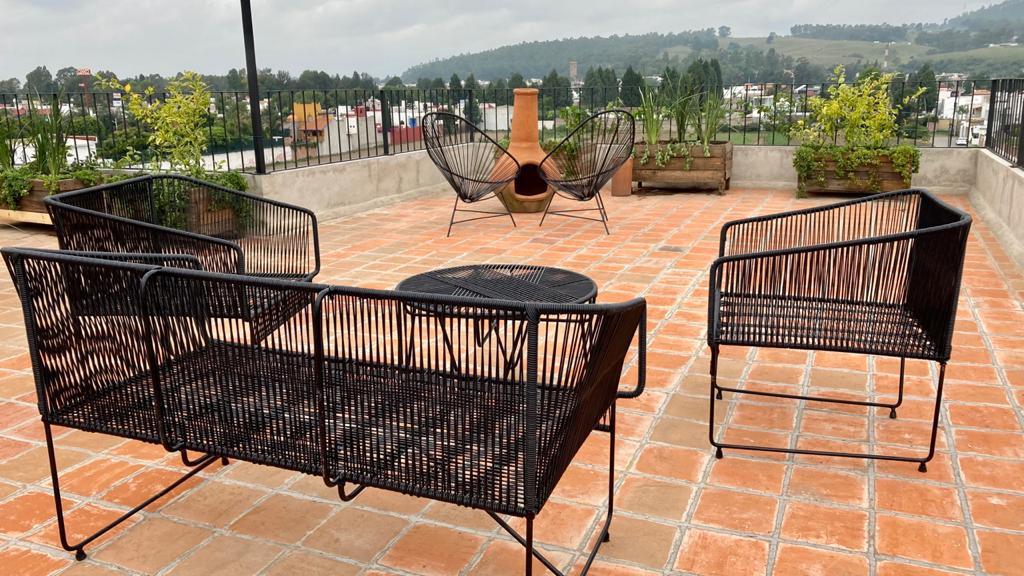 Foto Departamento en Venta en  San Pedro Cholula ,  Puebla  Loft en Venta Cholula 2 pisos con 1 Recamara / Increible Vista a los Volcanes