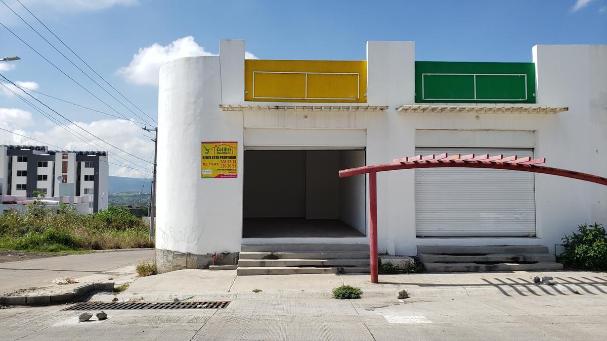 Foto Local en Renta en  Rincón del Pedregal,  Morelia  HACIENDA CIPRES LOCALES EN RENTA