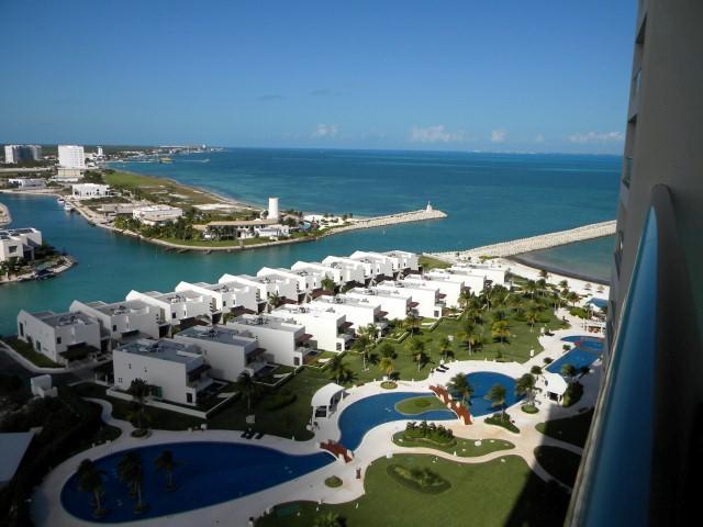 Foto Departamento en Renta en  Puerto Cancún,  Cancún  Puerto Cancún, Novo Cancún.  Espectacular Departamento de Lujo En Renta Frente al  Mar Torre Boreal 3 Recámaras en. Cancún , Quintana Roo