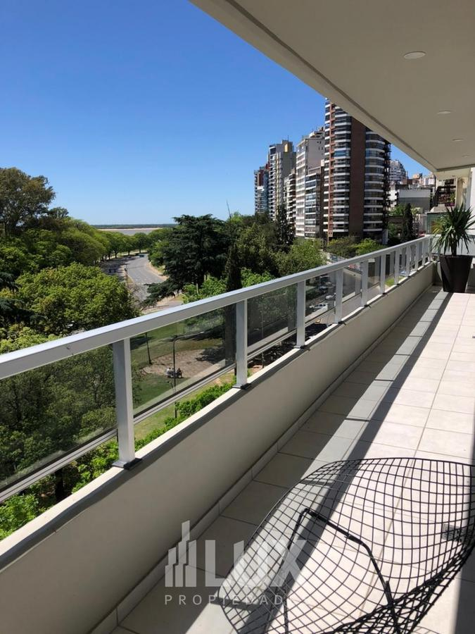 Departamento venta piso exclusivo terraza Avenida Libertad 300 Rosario - Centro