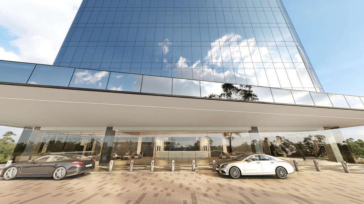 Foto Oficina en Venta en  Temozon Norte,  Mérida  The Sky Oficina en venta.