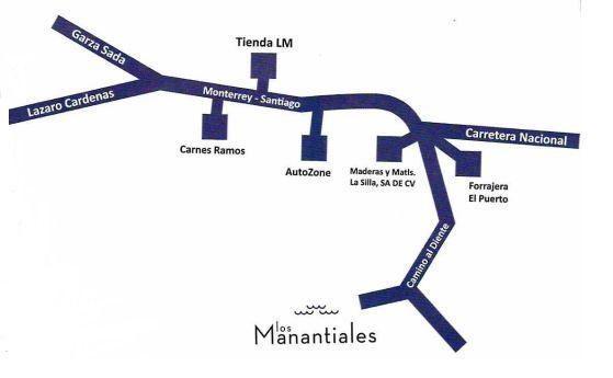 Foto Terreno en Venta en  Manantiales del Diente,  Monterrey  Manantiales del Diente
