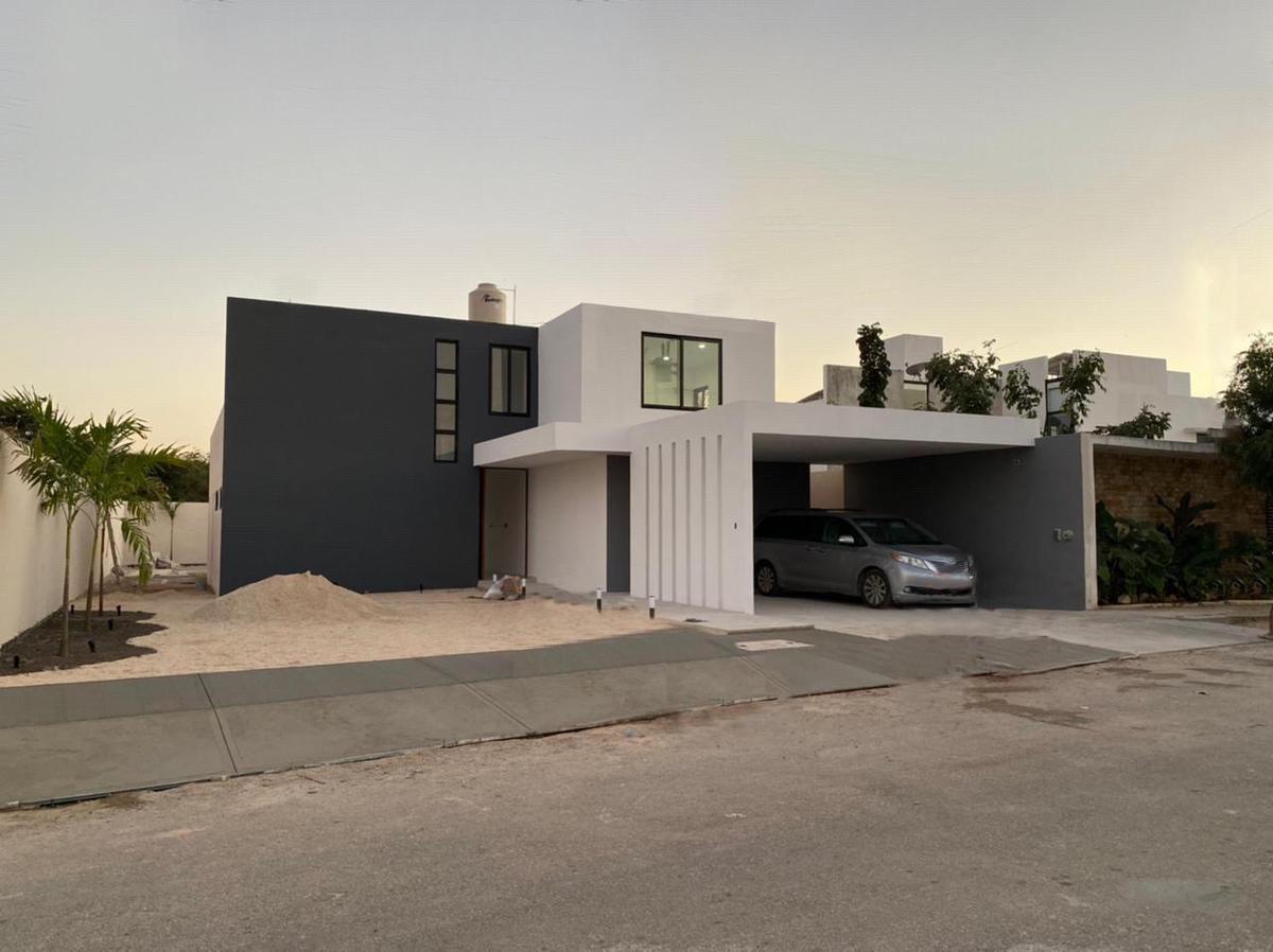 Foto Casa en Venta en  Pueblo Dzitya,  Mérida  Casa en venta en Dzitya Mod. Quercus, amplios espacios y con alberca