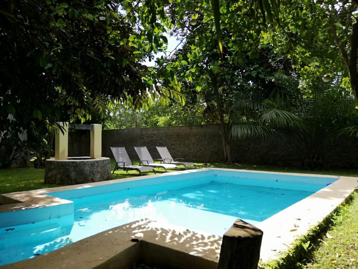 Foto Casa en Renta en  Pueblo Dzitya,  Mérida  Casa De 3 Recámaras  Amueblada  Y Con Alberca En Dzityá,Yuc.